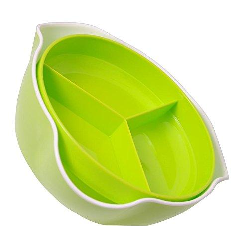 Houder voor noten, droge vruchten PROMIS-CM-200 met vacuüm en afvalcontainer in twee kleuren: rood of groen