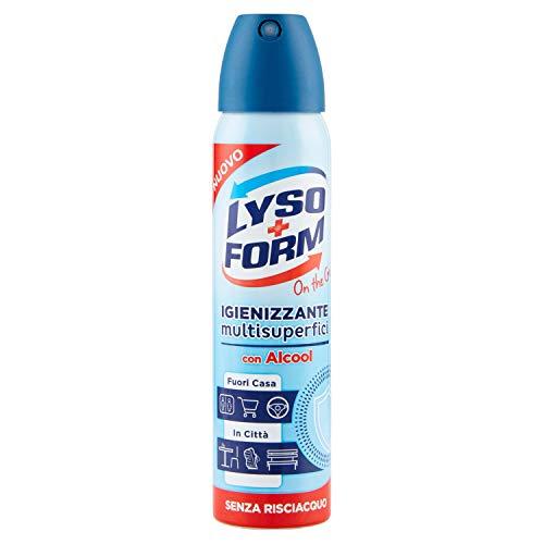 Lysoform Spray Igienizzante Multisuperfici On The Go, 75 ml