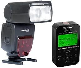 Yongnuo YN685 Wireless TTL Speedlite for Canon Cameras - Bundle With Yongnuo YN-622C-TX 7-Channel E-TTL Wireless Flash Controller