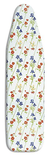 - Whitmor 6430-833 Deluxe Ironing Board Cover and Pad, Wildflowers