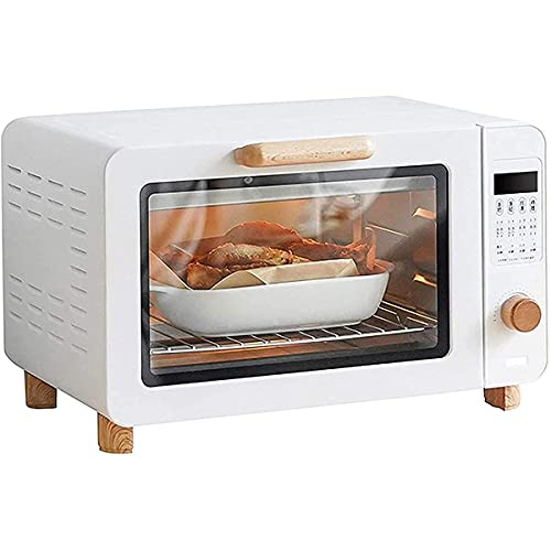 Horno eléctrico de sobremesa Horno tostador de 15L Horno de sobremesa para cocinar Horno portátil 1200w 30-230 & deg;Horno inteligente eléctrico de tubo de calentamiento de acero inoxidable