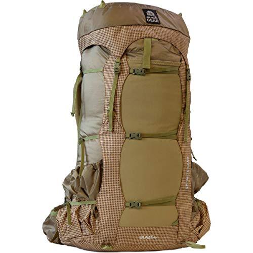 Granite Gear Blaze 60L Backpack 2019 - Pottery Clay/Brown Gingham/Walleye Regular