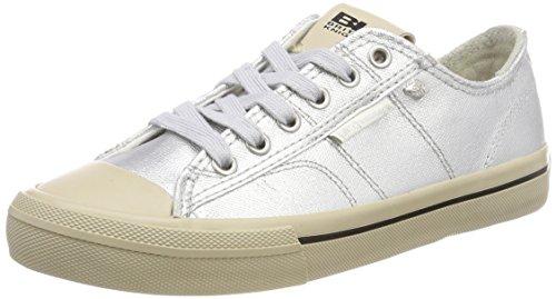 British Knights Damen Chase Sneaker, Silber (Silver), 40 EU