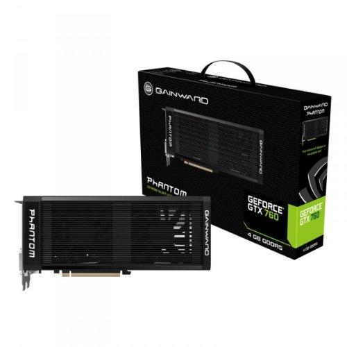 Gainward GTX760 Phantom NVIDIA Grafikkarte (PCI-e, 4GB, GDDR5 Speicher, DVI, 1 GPU)
