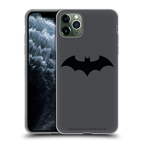 Head Case Designs Officially Licensed Batman DC Comics Hush Logos Soft Gel Case Compatible with Apple iPhone 11 Pro Max