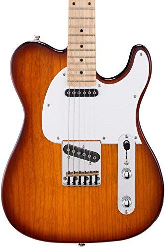 G&L Tribute ASAT Classic Electric Guitar Tobacco Sunburst Maple Fretboard