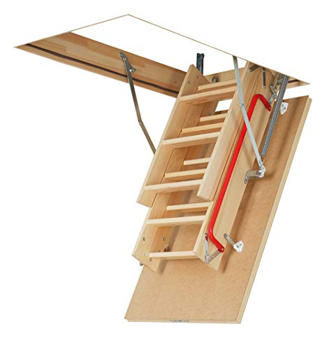 FAKRO LWP 66802 Insulated Attic Ladder for 25 x 47-Inch Rough Openings, 47 Inches