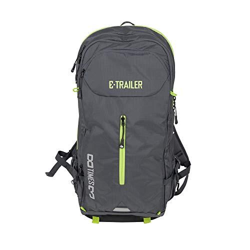 8TIMES3 E-Bike Rucksack | Fahrrad Backpack| mit herausnehmbarem E-Bike Akkufach | ergonomischer Rückenprotektor | viele Verstaumöglichkeiten | mit Regenschutz und Helmhalterung