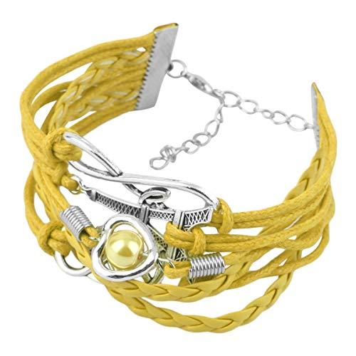 Tree-fr-Life Vintage Mesign Infinity Coeur Tour Eiffel Manchette Bracelet D'amitié Multicouche PU Bracelet en Cuir Livraison Gratuite Rapide