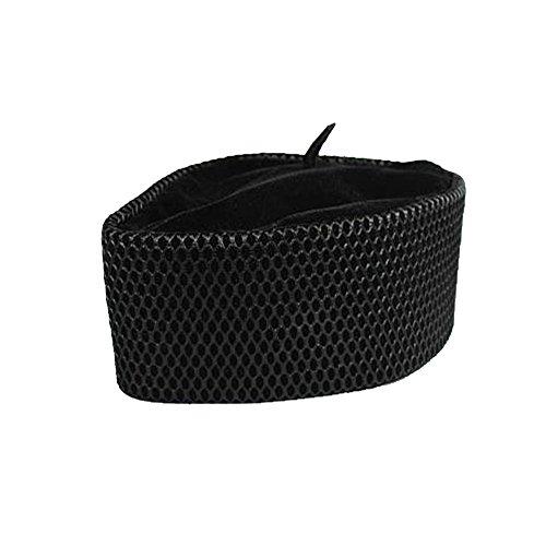 Oga Faaji African Kufi Apapo Cap (Medium 23 7/8 Inches, Black)