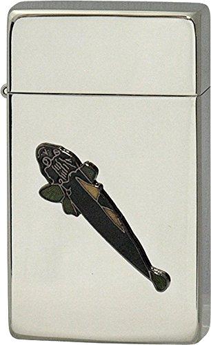 SAROME(サロメ) ガス ライター SRM 釣り 魚 シリーズ マゴチ シルバー 700278