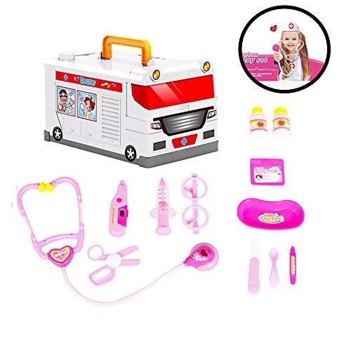 El doctor Patient Kit dentista Juego de imaginación Set de juguetes para niños en edad preescolar Edad 3 años al alza para los niños, muchachos y las muchachas que promueve habilidades de pensamiento