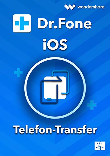 Dr.Fone Telefon Transfer iOS & Android - MAC (Product Keycard ohne Datenträger) Lifetime