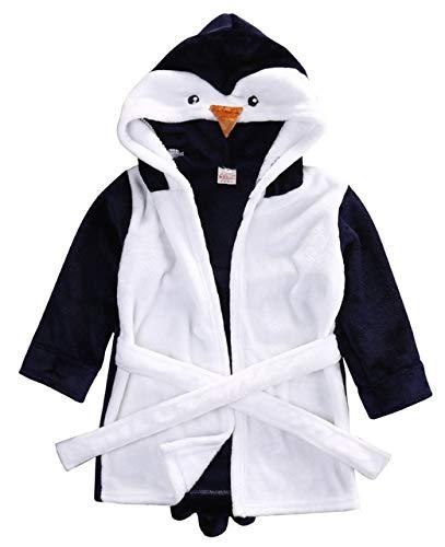GBX Winter Warm Cute Male Kapuze Badetuch Set Bademantel Baddecke Throw RobeBlue