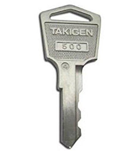 タキゲン(純正子鍵キー) 500番