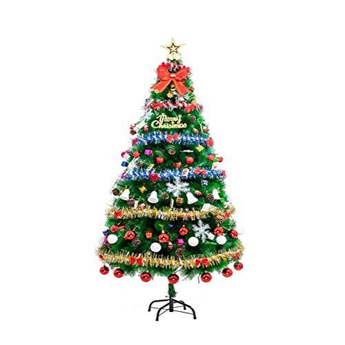 YuanYu Christmas Tree Package Thick Pine Needle, Home Decor, with Illuminated LED Christmas utenciles (Size : 1.5m)