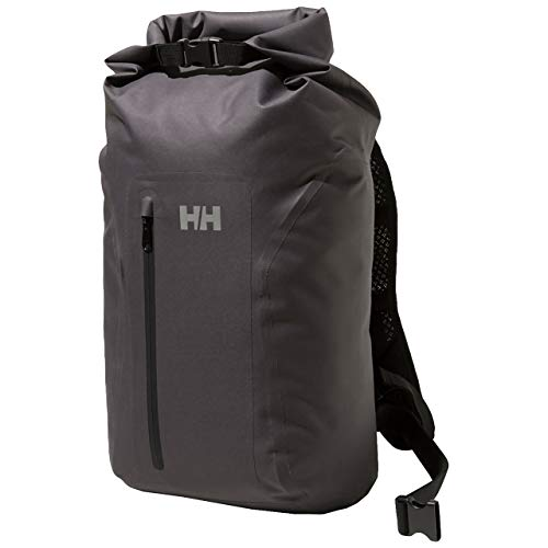[ヘリーハンセン] リュック WP Roll Big Backpack ブラックグレー One Size