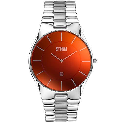 Storm London Slim-X XL Lazer Red 47159/R Reloj de Pulsera para Hombres
