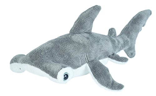 Wild Republic Hammerhead Stuffed Animal Plush Toy Sea Animals Gifts for Kids Sea Critters 11quot
