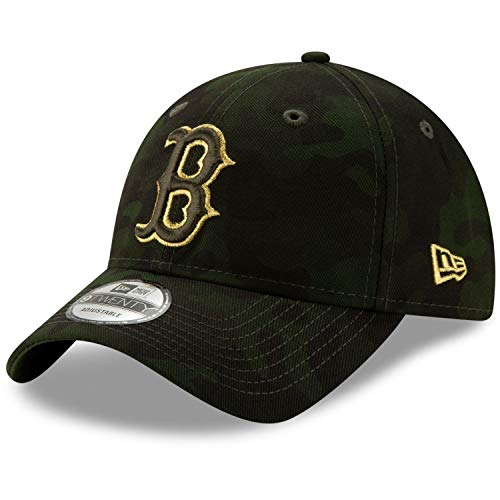 New Era Boston Red Sox 2019 MLB Armed Forces Day 9TWENTY Adjustable Hat - Camo