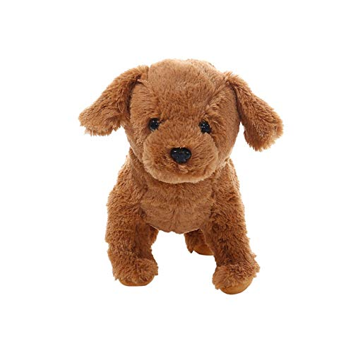 Realistic Teddy Dog Lucky, Handmade Realistic Toy Dog, Stuffed Animal Puppy Dog Stuffed Pet Toy Gift for Christmas