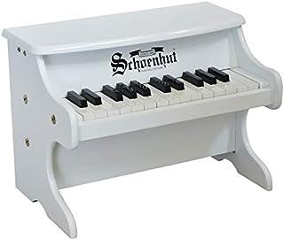 """Schoenhut25-Key White""""My First Piano II""""2522W【国内正規品】"""