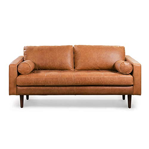 POLY & BARK Napa 72' Apartment Sofa in Full-Grain...