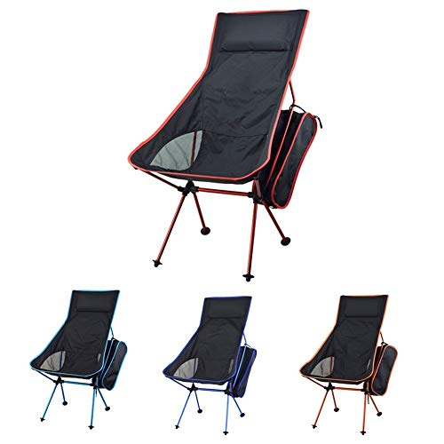 FFYY Camping Chair,Portable Camping Chair Portable Folding Chair Fishing Camping Chair 600D Oxford...