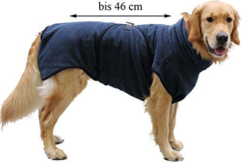 FamilyZoo Hundebademantel | bis ca.46 cm | Trockenmantel | Grau | Neu!!