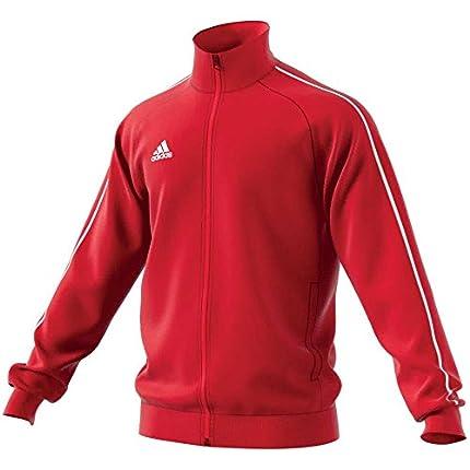 adidas Core18 PES Jkt Chaqueta, Hombre, Rojo (Power Red/White), L