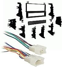Metra 99-8101 Single DIN Stereo Dash Kit + Harness for Select 1987-2004 Toyota
