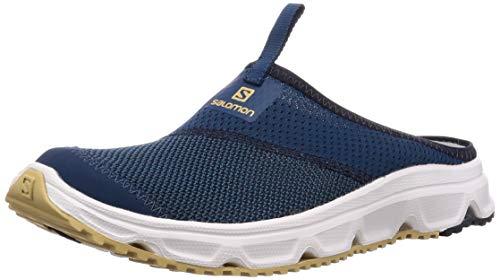 Salomon Herren Erholungsschuhe, RX SLIDE 4.0, Farbe: blau (Poseidon/navy Blazer/Taos Taupe) Größe: EU 46 2/3