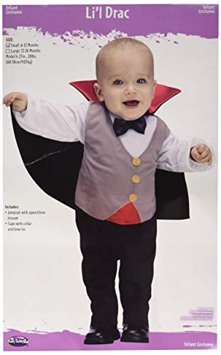 Fun World Kid's Lrg/Baby Drac Infnt Cstm Baby Costume, Multi, Large - http://coolthings.us