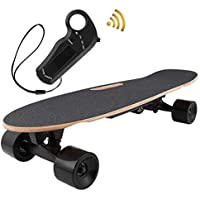 OppsDecor Electric Skateboard with Remote Control Top Speed 10 Miles Range