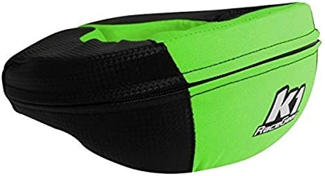 K1 Race Gear Neck Protector Brace Carbon Green Adult product image