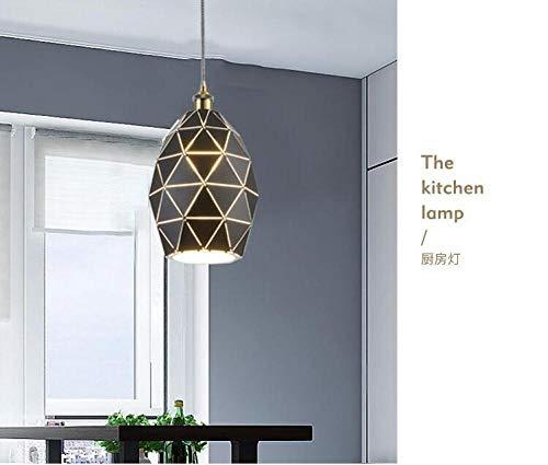 Kandelaar voor restaurant, modern, minimalistisch, creatief, hotel, techniek om op te hangen, ijzer