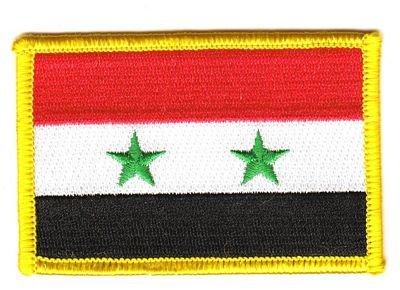 Flaggen Aufnäher Patch Syrien Fahne Flagge NEU