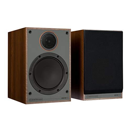 Monitor Audio 100 Altavoces para estantería, Nogal