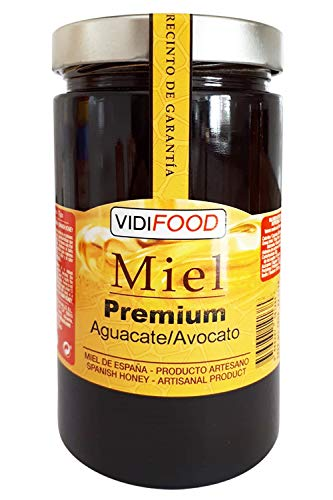 Miel de Aguacate Premium - 1kg - Producida en España - Alta Calidad, tradicional & 100{712179d0e6505e8d1d05b1eb0b2e8c8157f4e3eb31f1031ad19098683d820667} pura - Aroma Floral y Sabor Rico y Dulce - Amplia variedad de Deliciosos Sabores