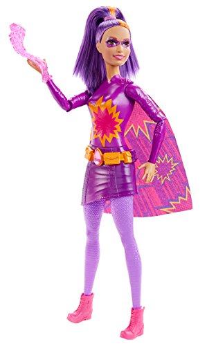 Barbie DHM65 Superheldin Sortiment Feuer, lila
