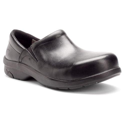 Timberland PRO Loafer Shoe,8-1/2,W,Black,Alloy,PR