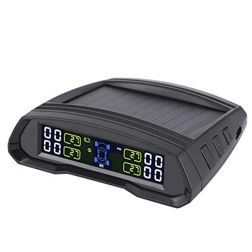 con monitor de presión de neumáticos de 4 sensores, detector de presión de neumáticos ligero, para camiones