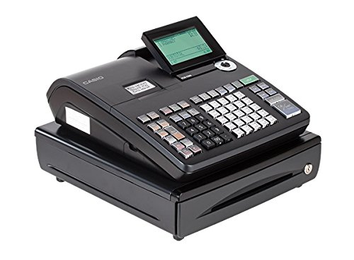 Casio PCR-T500 Electronic Cash Register,Black
