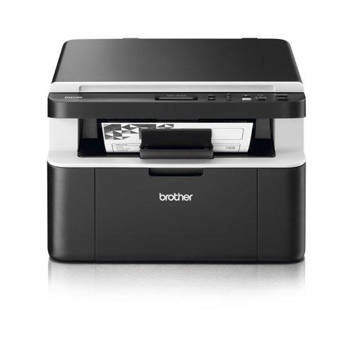 Brother DCP-1612W - Impresora Multifunción Láser, Conexión USB 2.0 Hi-Speed, Wi-Fi, Monócromo [España]
