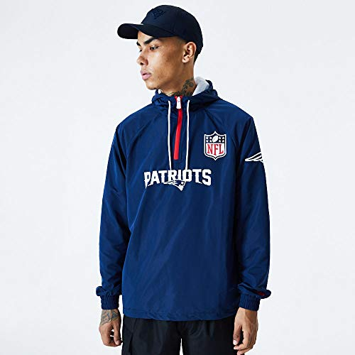 New Era Sudaderas Modelo NFL 1/4 Zip Windbreaker NEEPAT Marca