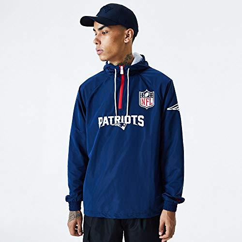 New Era NFL NEW ENGLAND PATRIOTS Endzone ZIP Windbreaker Jacket, Größe:XXL