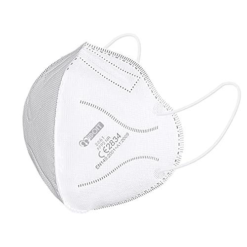 IDOIT FFP2 Mund- und Nasenschutz Maske,CE zertifizierte Atemschutzmasken,einzeln...