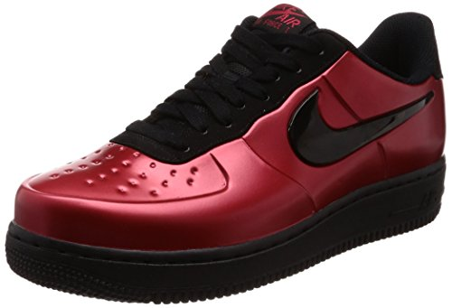 Price comparison product image Nike Men's Air Force 1 Foamposite PRO Cup Red / Black AJ3664-601 (Size: 11.5)