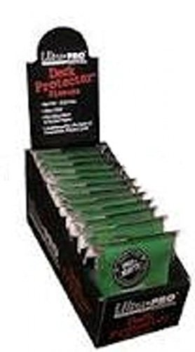 Ultra Pro PRO-MATTE (600 Count) Green Deck Protector Sleeves - Magic The Gathering 12 Pack Box/Case image