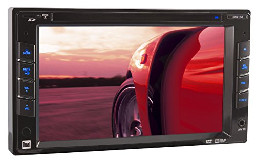 Dual XDVD1262 In-Dash 6.2-Inch Double DIN DVD/MP3/WMA Car Stereo Receiver with Direct USB iPod Control and SD Card Reader